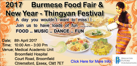 2017 Burmese Food Fair & New Year Festival
